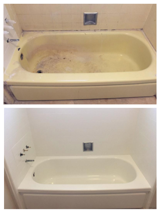 Bathtub Replacement Before And After