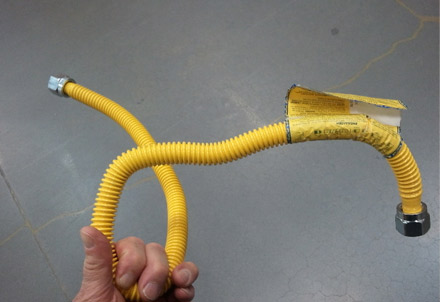 Flexible Gas Pipe LIne