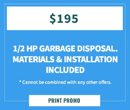 Garbage Disposal Special