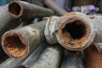 Old Corroded Pipes